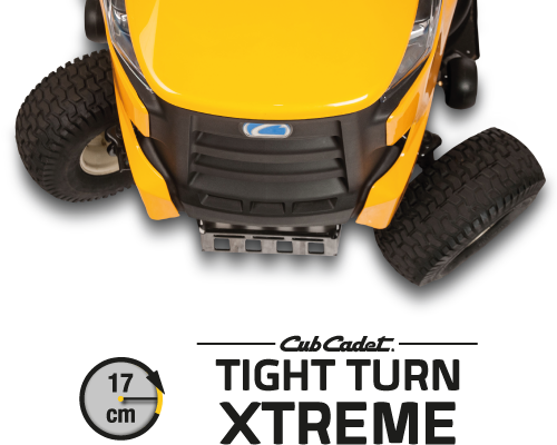 Cub Cadet eXtreme tight turn