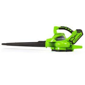 GreenWorks G-Max Blower Vacuum 40v Digigpro 185mph